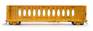 Available Today! 6 Paint Schemes of the HO Scale Thrall 63' Centerbeam Flat Car!