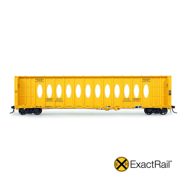 "Thrall 63' ""Opera Window"" Center-Beam Flat Car"
