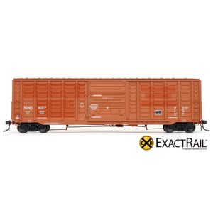 HO Scale: P-S 5277 'Waffle' Boxcar