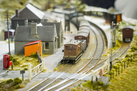 example of a great model railroad
