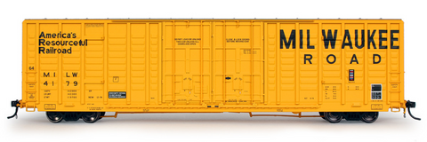 exactrail.com ho scale milwaukee road 7315 boxcar 80613