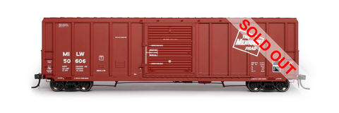exactrail.com ho scale milwaukee road 5344 boxcar 80904