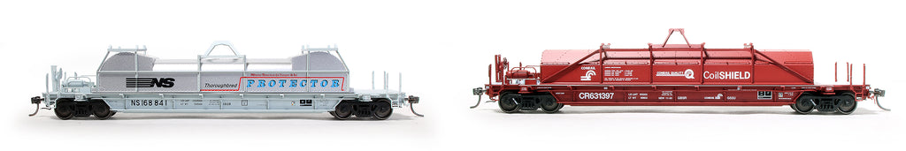 ExactRail HO Scale Coil Cars