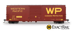 Western Pacific Model Boxcar - HO Scale