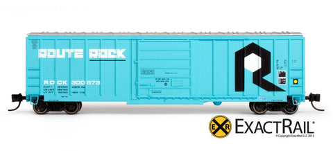 N Scale Box Car by Exactrail
