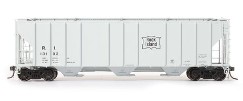 exactrail.com ho scale ps-2cd 4427 covered hopper rock island 80188