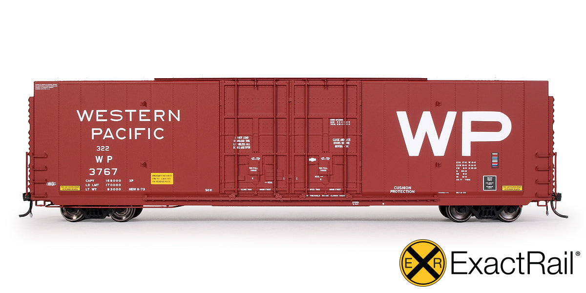 HO Scale: Greenville 7100 Auto Parts Boxcar - ExactRail