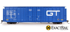 GTW P-S 7315 Waffle Box Car - HO Scale ExactRail