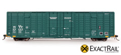 DT&I P-S 7315 Waffle Box Car - HO Scale ExactRail