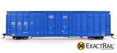 ExactRail HO Scale P-S 7315 Waffle Side Boxcar