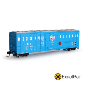 N Scale: Evans 5277 Boxcar - Mississippian Railway