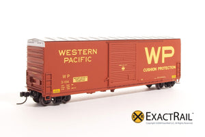 X - N - PC&F 6033 cu. ft. Hy-Cube Box Car : WP - ExactRail Model Trains