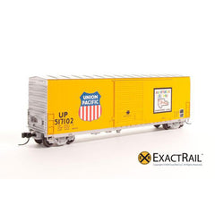 N Scale: PC&F 6033 cu. ft. Hy-Cube Box Car - UP