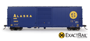 HO Scale: PC&F 6033 Boxcar : ARR - ExactRail Model Trains - 2