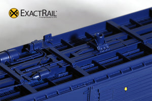 HO Scale: PC&F 6033 Boxcar : ARR - ExactRail Model Trains - 4