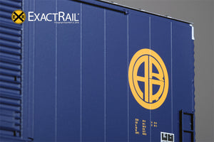 HO Scale: PC&F 6033 Boxcar : ARR - ExactRail Model Trains - 5
