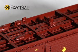 HO Scale: PC&F 6033 Boxcar : WP - ExactRail Model Trains - 3
