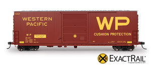 HO Scale: PC&F 6033 Boxcar : WP - ExactRail Model Trains - 2