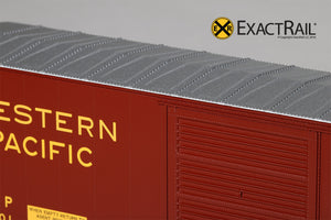 HO Scale: PC&F 6033 Boxcar : WP - ExactRail Model Trains - 4