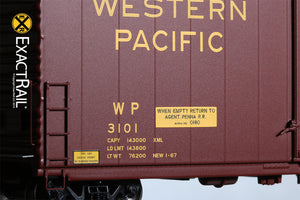 HO Scale: PC&F 6033 Boxcar : WP - ExactRail Model Trains - 5