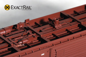 HO Scale: PC&F 6033 Boxcar : SSW - ExactRail Model Trains - 3