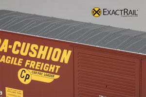 HO Scale: PC&F 6033 Boxcar : SSW - ExactRail Model Trains - 5