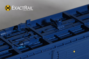 HO Scale: PC&F 6033 Boxcar : SIRX - ExactRail Model Trains - 3
