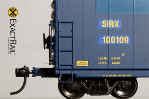 HO Scale: PC&F 6033 Boxcar : SIRX - ExactRail Model Trains - 5