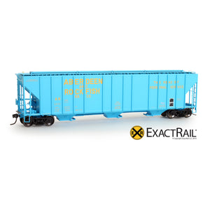 HO Scale: Evans 4780 Covered Hopper - AR