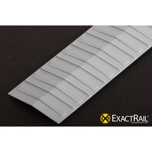 N Scale: Roof - 50' Pullman-Standard Riveted, Overhanging