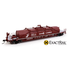 "HO Scale: Thrall 54' Conrail ""Coil Shield"" Coil Car - ""As Delivered"" G52S"