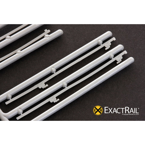 HO Scale Details: Door Tracks: 12' plug door tracks (2 parts/track)