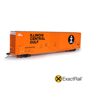 HO Scale: Berwick 7440 Appliance Boxcar - Illinois Central Gulf