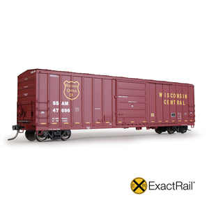 HO Scale: Evans 5277 Boxcar - Sault Ste Marie Bridge Co.