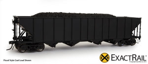"X - Bethlehem 3483 Hopper: D&RGW: ""As Delivered"" - ExactRail Model Trains - 8"