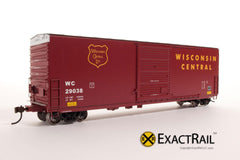 X - PC&F 6033 cu. ft. Hy-Cube Box Car : WC - ExactRail Model Trains