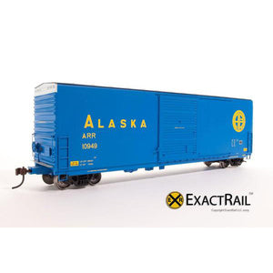 HO Scale: X - PC&F 6033 cu. ft. Hy-Cube Box Car - Alaska