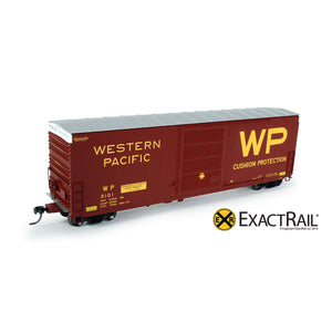 HO Scale: PC&F 6033 Boxcar - Western Pacific