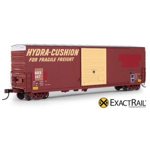 HO Scale: PC&F 6033 cu. ft. Hy-Cube Box Car - BAEX