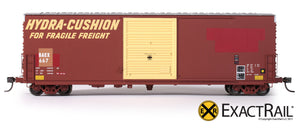 X - PC&F 6033 cu. ft. Hy-Cube Box Car : BAEX - ExactRail Model Trains - 2