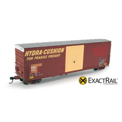 HO Scale: PC&F 6033 Boxcar : BAEX