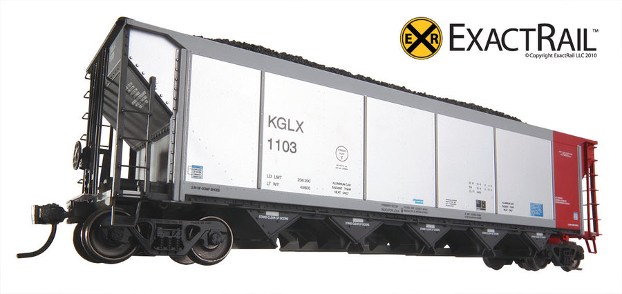 HO Scale: Johnstown America AutoFlood ll Hopper - KGLX