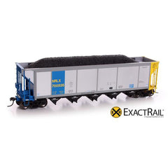 HO Scale: Johnstown America AutoFlood ll Coal Hopper - NRLX
