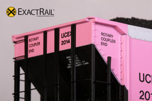 Johnstown America AutoFlood II Coal Hopper : UCEX - 'On Track for the Cure.' - ExactRail Model Trains - 4