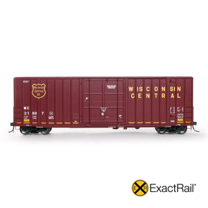 HO Scale: Gunderson 6269 Boxcar - Wisconsin Central