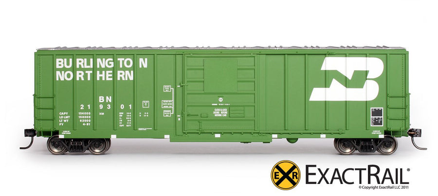 HO Scale: Evans-USRE 5277 Boxcar - Burlington Northern