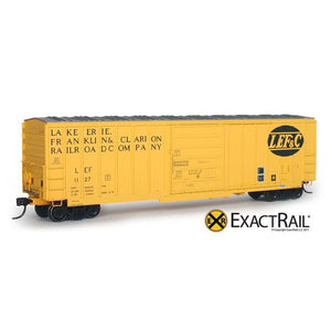 HO Scale: Evans-USRE 5277 Boxcar - Lake Erie, Franklin, and Clarion