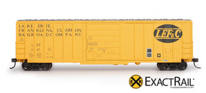 Evans-USRE 5277 Boxcar (Early) : LEF - ExactRail Model Trains - 2