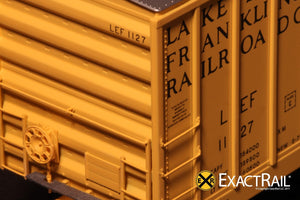 Evans-USRE 5277 Boxcar (Early) : LEF - ExactRail Model Trains - 3