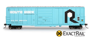 Evans-USRE 5277 Boxcar (Early) : RI - ExactRail Model Trains - 2